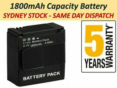 AU15.97 • Buy 1800mAh Battery AHDBT-301 201 For Go Pro HD Gopro Hero 3 3+ Camera | NEW