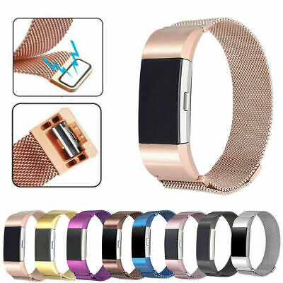 AU12.94 • Buy FOR Fitbit Charge 2 Steel Luxury Band Replacement Wristband Watch Strap Bracelet