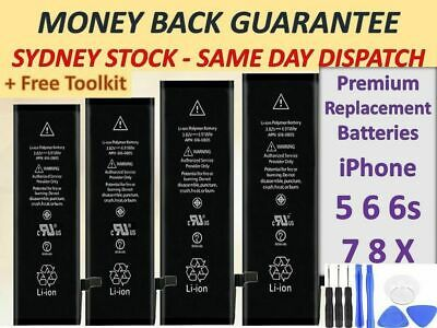 AU15.74 • Buy NEW High Capacity OEM Battery Replacement For IPhone SE 5 5C 5S 6 6S 7 Plus 8+