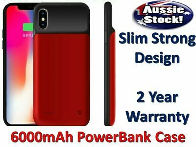 AU30.95 • Buy 6000mAh Battery Charger Case For IPhone X XS / Max XR Power Bank Charging Cover