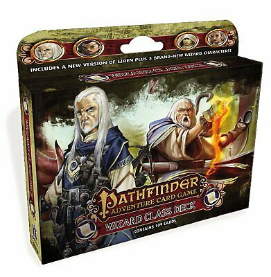 Pathfinder Adventure Card Game: Wizard Class Deck New / Sealed • 14$