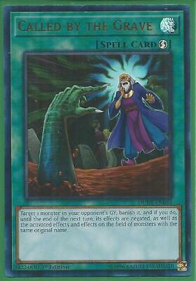 AU11.99 • Buy Yugioh Card - Called By The Grave *Ultra Rare* DUDE-EN044 (NM/M)
