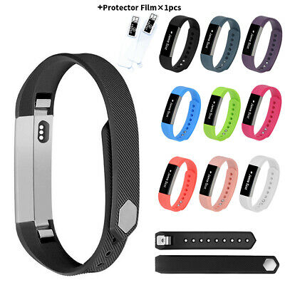 AU6.24 • Buy For Fitbit Alta HR Silicone Sport Soft Wrist Band Replacement Bracelet Strap