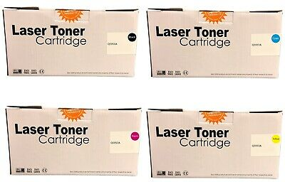 Compatible 643A Set Toner Cartridges Q5950A Q5951A Q5952A Q5953A For HP 4700 • 193.45£
