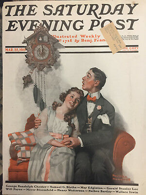$ CDN50.87 • Buy Saturday Evening Post 3/22/19 COVER ONLY Norman Rockwell Very Nice Cover
