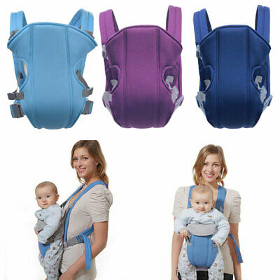Adjustable Infant Baby Carrier Wrap Sling Hip Seat Breathable Newborn Backpack • 9.75£