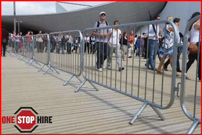 Heras Pedestrian Barrier Crowd Control Site Temporary Fencing • 27.50£