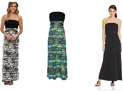 AU28.99 • Buy **Hurley** Womens Holiday Off Shoulder Long Dress Summer Party Maxi Dress XS-XL