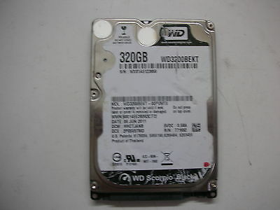 AU16.67 • Buy WD Scorpio Black 320gb WD3200BEKT-00PVMT0 2060-771692-005 Rev A 2,5   SATA