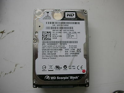 AU16.67 • Buy WD Scorpio Black 320gb WD3200BEKT-75PVMT0 2060-771692-005 Rev A 2,5   SATA