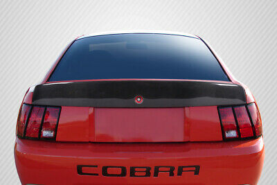 $366 • Buy 99-04 Ford Mustang Cobra Look Carbon Fiber Body Kit-Wing/Spoiler!!! 115531
