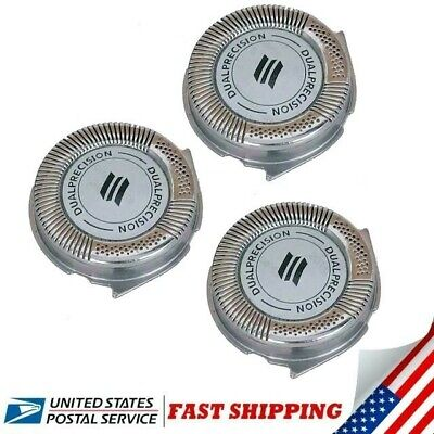 $ CDN18.13 • Buy 3pcs HQ8 Replacement Heads DualPrecision For Philips Norelco Shavers And Blades