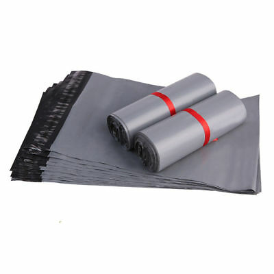 £4.35 • Buy Grey Mailing Bags X 60, MIXED SIZES Mail Postal Parcel Post Plastic Strong Poly