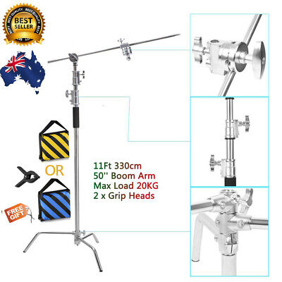 AU169 • Buy Heavy Duty C Stand Reflector Light Stand With Boom Arm Kit F Studio Photography