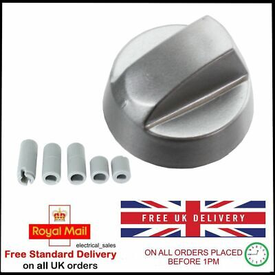 Stoves New World Belling Silver Grey Oven Cooker Hob Knob Switch & Adaptors • 3.49£