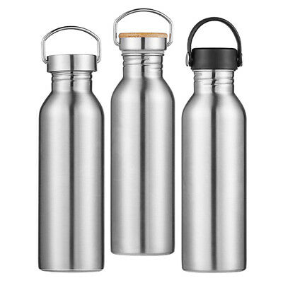 Sports Water Bottle 12/17/20/25oz For Cyclists Runners Hikers Picnics Gym • 7.13£
