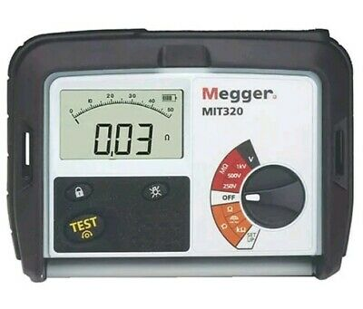 $599 • Buy NEW Megger MIT320EN MIT 320 Insulation Tester And Continuity Tester Analyzer