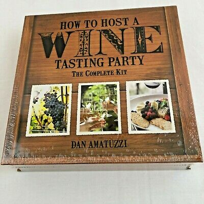 Wine Tasting Party How To Host A The Complete Kit Amatuzzi Wine Not Included • 12.32$