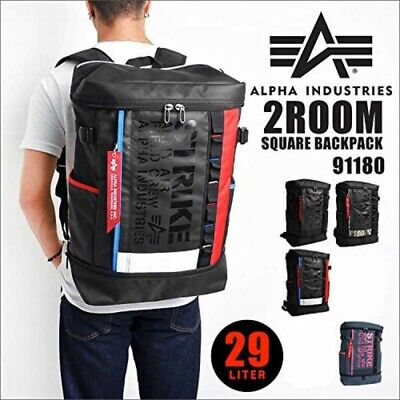 $ CDN184.43 • Buy ALPHA INDUSTRIES 91180 Double Decker Square Backpack 4 Colors FastShip Japan EMS