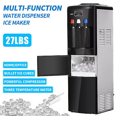 $1259.90 • Buy 2in1 Electric Hot Cold Water Dispenser W/ Built-in Ice Maker Machine Safety Lock