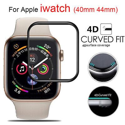 $ CDN4.07 • Buy For Apple Watch Series 4/3/2/1 Tempered Glass 4D  Full Screen Protector 40/44mm