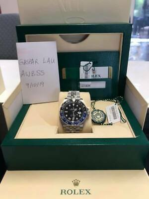 $ CDN24737.46 • Buy BRAND NEW Rolex GMT-Master II 126710BLNR 2019 Batman Batgirl