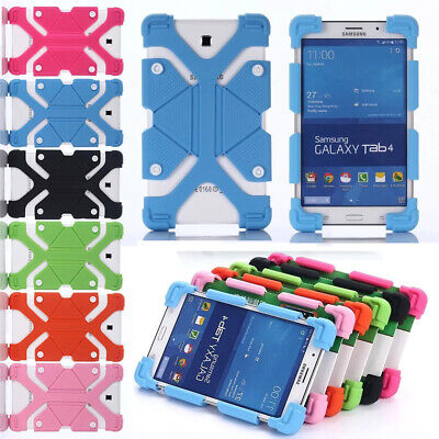 AU13.46 • Buy AU For Various 7  8  Tablets Universal Adjustable Shockproof Silicone Case Cover