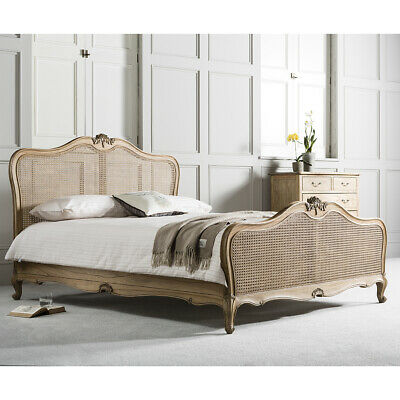 £1075.25 • Buy Frank Hudson Chic Weathered Cane French Bed