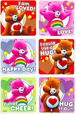 £1.79 • Buy Care Bears Stickers X 6 - Birthday Party - Favours - Loot Ideas - Loved Hugs