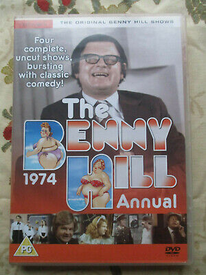 Benny Hill The Benny Hill 1974 Annual Four Complete Uncut Shows Dvd Region 2 Pal • 6£
