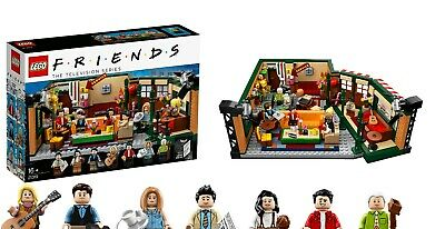 $79.99 • Buy LEGO FRIENDS Central Perk Ideas Set 21319 IN HAND BRAND NEW