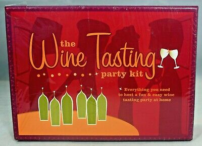 The Wine Tasting Party Kit (2005, Kit) New • 17.50$