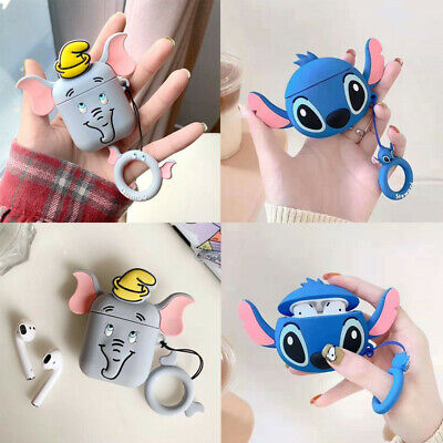 AU5.68 • Buy Cute 3D Cartoon Silicone Airpod Protective Case Cover Skin For Apple Airpods