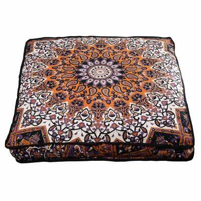 £13.97 • Buy Vintage Brown Ombre Mandala 35  Indian Square Floor Pillow Case Cushion Covers