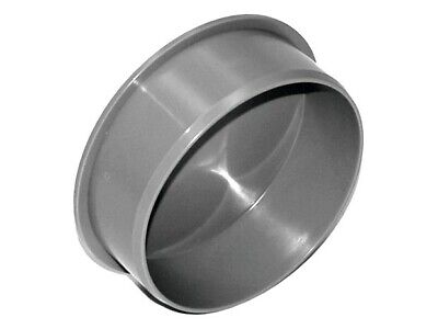 £3.49 • Buy 110mm 4'' Socket Plug Soil Pipe End Cap Drainage Sewerage Ending Stop Cover Grey