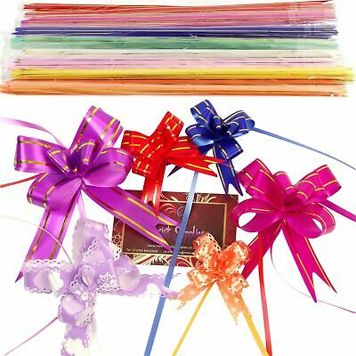10x Multi Listing Of Butterfly Pull Bows! 12 - 50mm PullBows Florist Craft XMas • 1.49£
