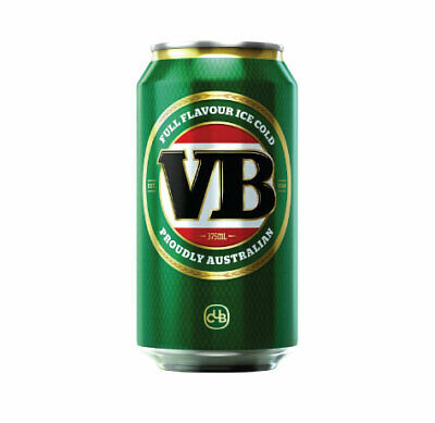AU3.99 • Buy VB Beer Can Sticker Fun MAN CAVE BAR Race Trailer Window Boat Camping Speedway