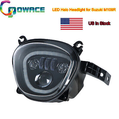 $379.02 • Buy For M109R LED Headlight Angel Eye Assembly Fit Suzuki M109R Accessories(US Ship)