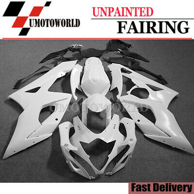 $268.15 • Buy Fairing Kit For Suzuki GSXR1000 2005-2006 ABS Injection Bodywork Unpainted 05 06