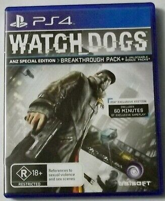 AU9.95 • Buy Watch Dogs Ps4