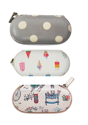 £19.90 • Buy Cath Kidston Zipped Around Eye Glasses Case Includes Glasses-Cleaning Cloth