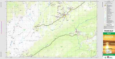 AU39.95 • Buy Perisher Valley 8525-2S Topographic Map 1:25k