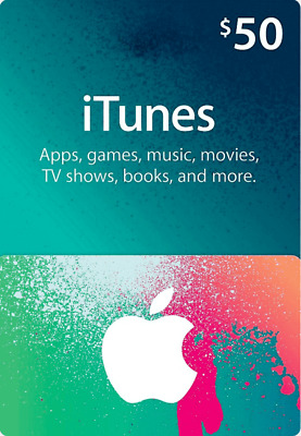 AU65.23 • Buy $50 USD ITunes Prepaid Card - 50 US Dollar Apple Store - USA Region - 5% Off