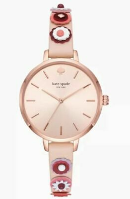 $ CDN73.65 • Buy KATE SPADE Women's 34mm Metro Western Rivet Vachetta Leather Watch KSW1463