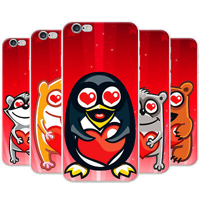 £3.99 • Buy Azzumo Star Struck Love Animals Soft Ultra Thin Case Cover For The Apple IPhone