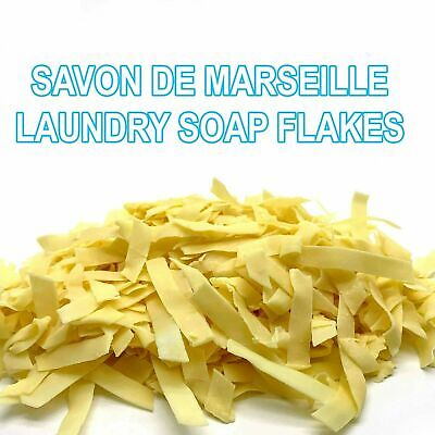 Washing Machine Hand Launder PURE NATURAL SOAP FLAKES Savon De Marseille France • 3.49£