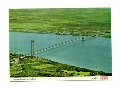 £2.99 • Buy Yorkshire - Humber Bridge From The North - Vintage Postcard