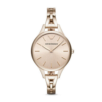 View Details Emporio Armani AR11055 Womens Pink Analogue Watch • 328.00AU