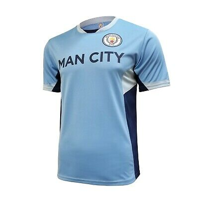 Manchester City Mens Home Soccer Jersey Training 2019/2020 New Season Blue Man • 24.99$