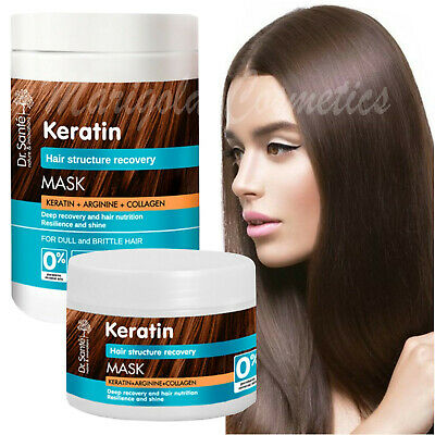 £6.39 • Buy Dr Sante KERATIN Collagen REPAIR MASK Damaged Dry PROTEIN HAIR TREATMENT Growth